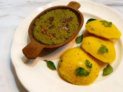 Coriander Curry leaf  Green chutney