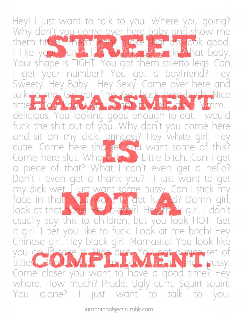 posterstreetharassment