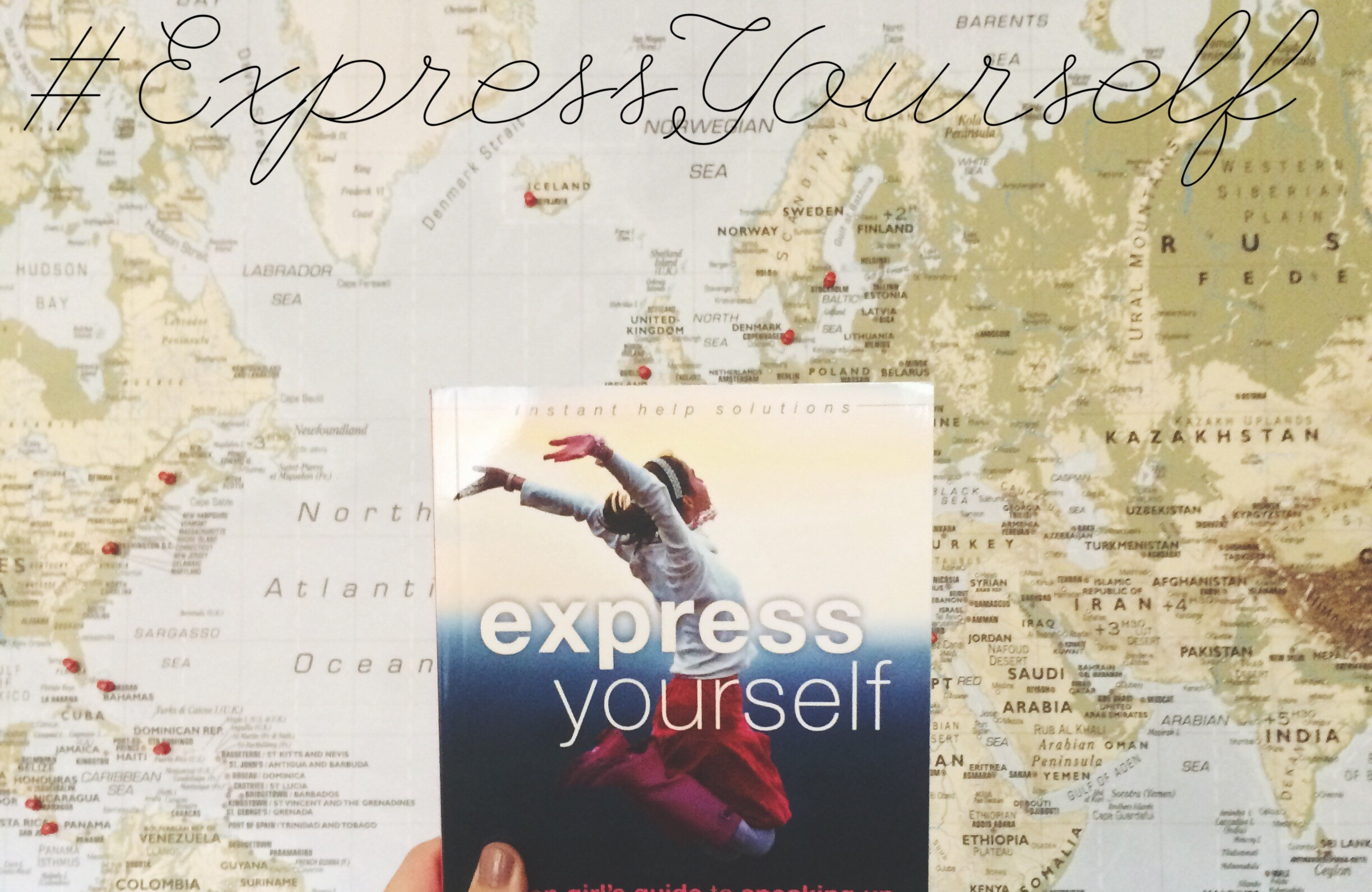 Book Giveaway and Review: Express Yourself by Emily Roberts