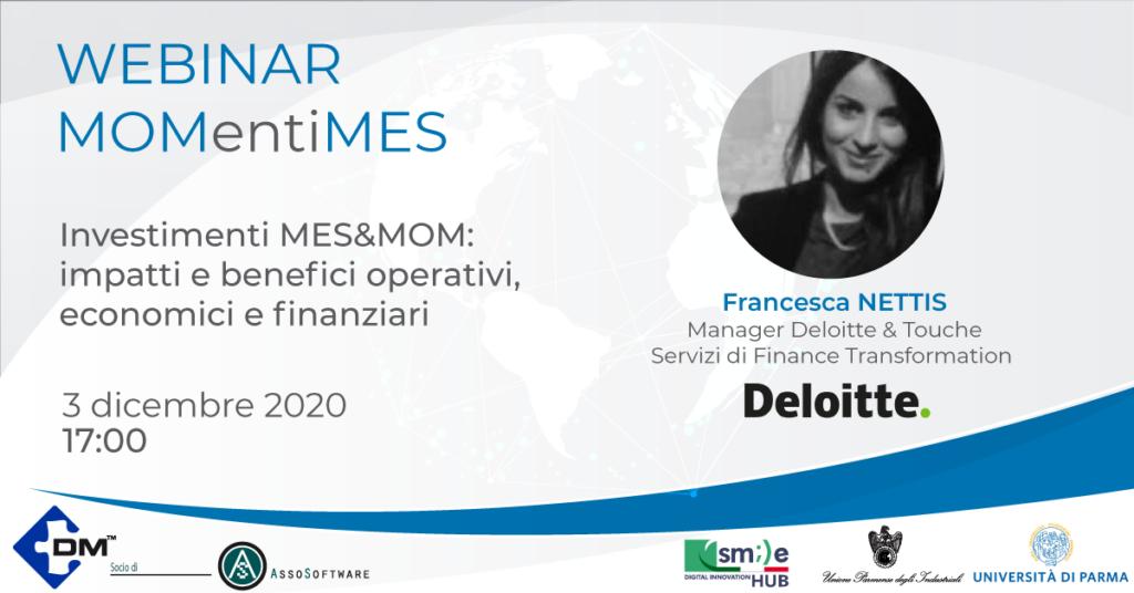 MOMentiMES: impatti e benefici degli investimenti MES/MOM con Deloitte