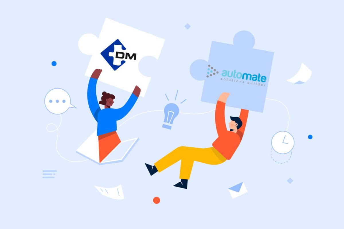 DM sigla partnership tecnologica con Automate