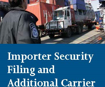 Importer Security Filing 10+2