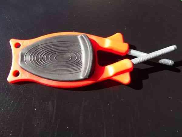 pocket size knife sharpener