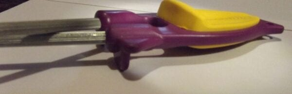 side view of the new patent Block knife sharpener