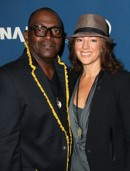 American Idol's, Randy Jackson, Receives music for life award at 2013 NAMM Show.  Picture with Sarah Mclachlan.  Photo:  Getty Images