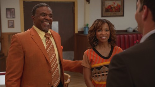 Actor Keith David and Elise Neal.  Photo credit:  TV-One