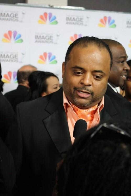 Roland Martin at 43rd NAACP Image Awards.Credit:  Shanda Pierce (TCV)