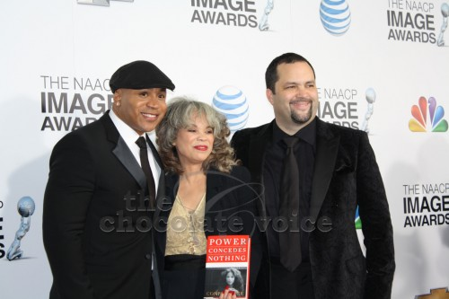 LL Cooll J., Connie Rice and Benjamin Jealous