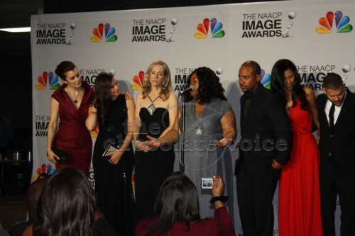 Shonda Rhimes and Cast of Scandal