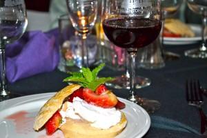 Fresh Strawberry Caramel Short Cake, Creme Chantilly- Photo Credit:  TCV/Gwen Pierce