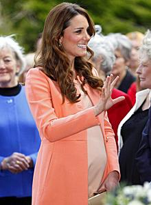 A pregnant Duchess of Cambridge Photo Credit: www.cbc.ca