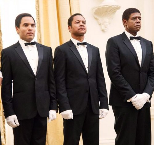 Photo:  Facebook (L-R)  Lenny Kravitz, Cuba Gooding Jr. and, Forest Whitaker