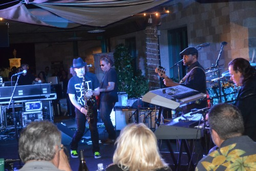 Boney James performing at Thornton Winery, August 17, 2013