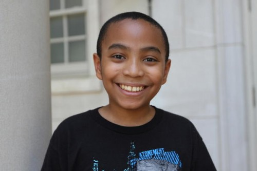 11-year old Carson Huey-You, first year student at TCU