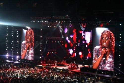 Grammy nominated artist Ledisi performing Live at 2012 Essence Festival