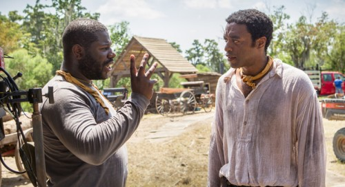 Film's director Steve McQueen and actor, Chiwetel Ejiofor