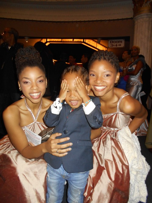 """Pictured:  Child Actor/Model & No Toy Guns Awards Recipient Elias Washington attending the 23rd Annual NAACP Theatre Awards. He was spotted walking the red carpet promoting his up and coming projects on Bet's Real Husbands Of Hollywood, CountryMusic's newest#1 Female Artist Katie Armiger's """"Safe"""" a project dedicated to First Responders, and Kidz100%.Keep a look out for him on Season 2 episode 11 of Real Husbands of Hollywood where he takes on Actors Kevin Hart, Selita Ebanks and Duane Martin."""