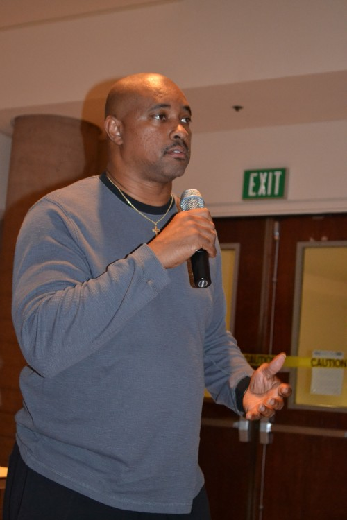 Tony Baker, San Diego NAACP, member shares his experiences with Bullying and, organization, Education Transformation