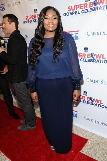 Singer Candice Glover attends the Super Bowl Gospel Celebration 2014 on January 31, 2014 in New York City. (Photo by Gary Gershoff/Getty Images for Super Bowl)