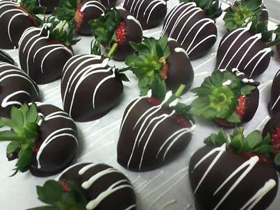 Fresh Chocolate Covered Strawberries/Facebook