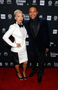 Anthony Anderson pictured with Keshia Cole