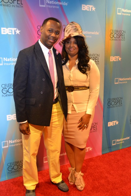 Micah Stampley and wife Heidi @micahstampley