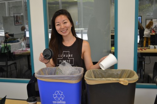 Do you know what goes into the trash vs what's recycled?