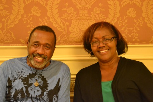 Ben Vereen and Gwen Pierce, The Chocolate Voice sat down for a brief chat at the Westgate Hotel after the Master Class