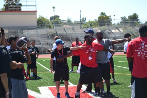 San Diego Chargers and Larry English, L.E.A.D on and off the Field with student athletes