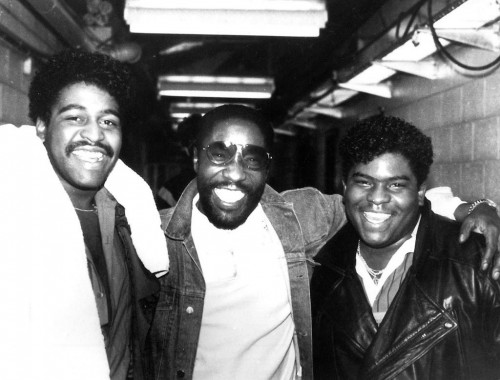 Gerald and Sean Levert of the group Levert, Followed their Dad Eddie's lead becoming one of the greatest singers of all time.