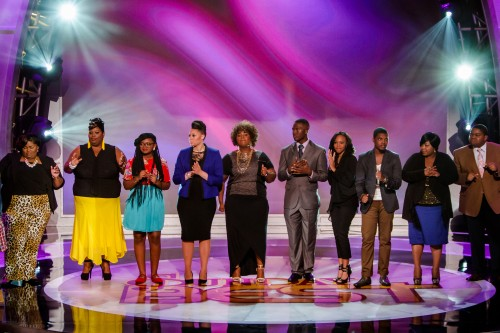 Top 10 contestants take the stage on SUNDAY BEST; Airs Sunday Nights At 8PM ET/PT* on BET Networks/Photo Courtesy of BET Networks)
