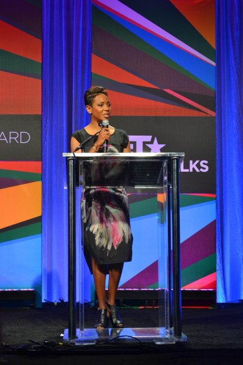 Genius talks, sponsored by Rush Card,  was hosted by the gorgeous McLyte.