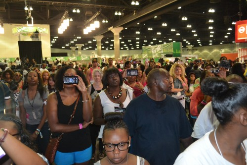 Fans at Music Matters on Sunday, June29, 2014.
