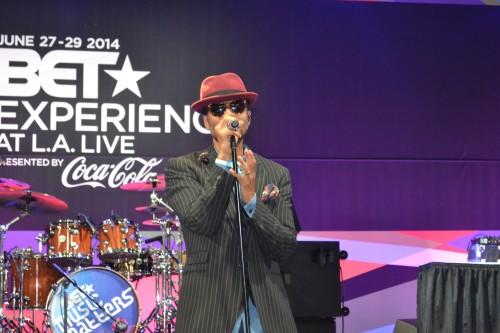 Eric Benét performs on Sunday at Music Matters.