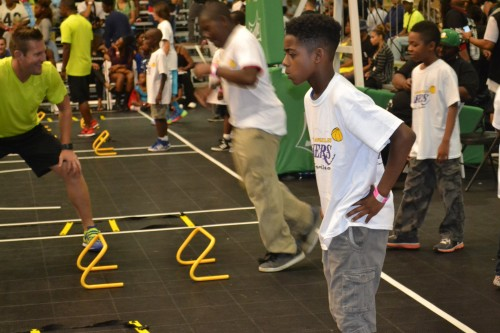 LA Lakers Youth Clinic