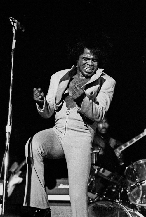 The King of Soul, James Brown.