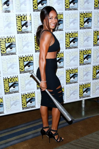 Jada Pinkett Smith rockin' it at Comic-Con