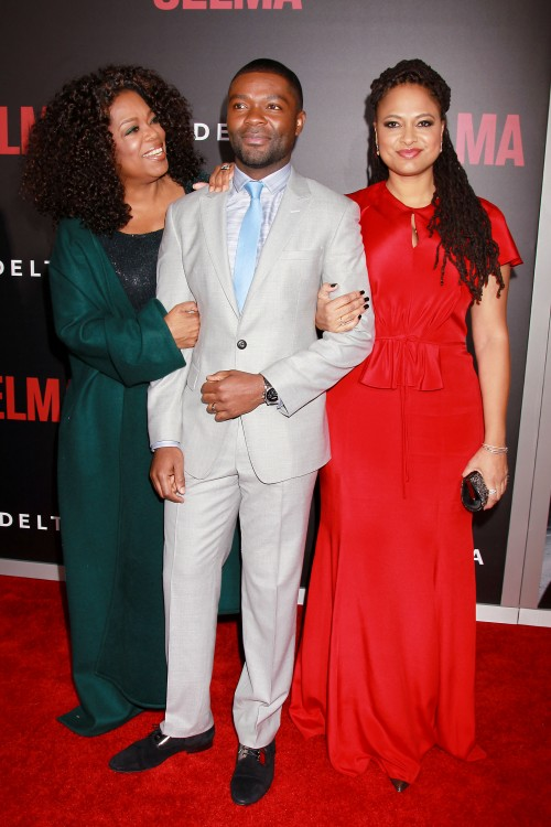 -PICTURED: Oprah Winfrey, David Oyelowo and Ava DuVernay -PHOTO by: Dave Allocca/Starpix