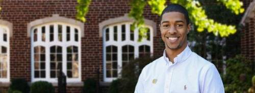 Robert A. Fisher, a senior and Brock Scholar at The University of Tennessee at Chattanooga