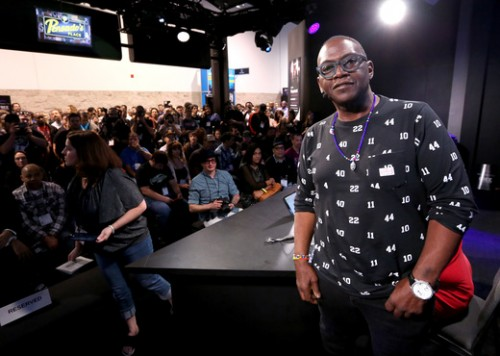 On January 24, RANDY JACKSON attended the 2015 National Association of Music Merchants (NAMM) Show, held at the Anaheim Convention Center. In 2013 Jackson received the prestigious NAMM honor, the Music for Life Award/ (Photo by Jesse Grant/Getty Images for NAMM)