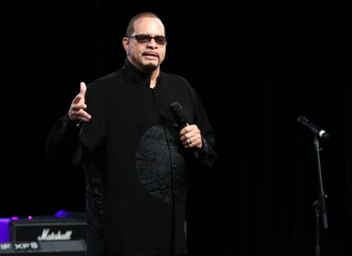 Comedian SINBAD, also a guitarist, hosted the 2015 NAMM TEC Awards at the Anaheim Hilton, January 24, 2015. The NAMM TEC Awards recognizes excellence in sound technology and creativity and is held each year during the world-famous NAMM Show.  (Photo by Jesse Grant/Getty Images for NAMM)