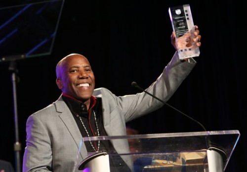 Nathan East attends NAMM 2015 show/ Photo credit: Jesse Grant/Getty Images for NAMM'