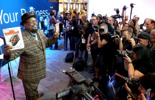 George Clinton poses for the media