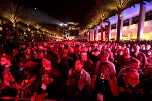 NAMM draws more than 95,000 members of the music products industry to Anaheim.