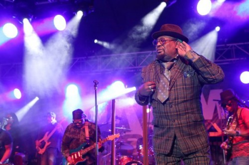 JANUARY 23: Musician George Clinton performs at the 2015 National Association of Music Merchants show at the Anaheim Convention Center on January 23, 2015 in Anaheim, California. (Photo by Jesse Grant/Getty Images for NAMM)