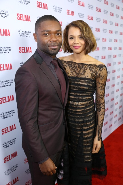 Actor David Oyelowo and Actress Carmen Ejogo
