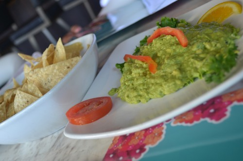 Count on Guacamole and Chips served as a pre-party appetizer.