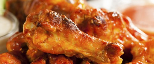 Hot Buffalo Chicken Wings, are always a Super Bowl party favorite.