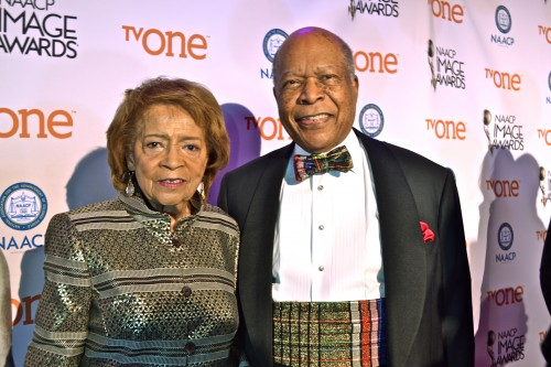 """Pictured:  Dr. Louis W. Sullivan and wife, Ginger.  Dr. Sullivan is nominated for outstanding literary work for his book,  """"Breaking Ground:  My Life in Medicine"""