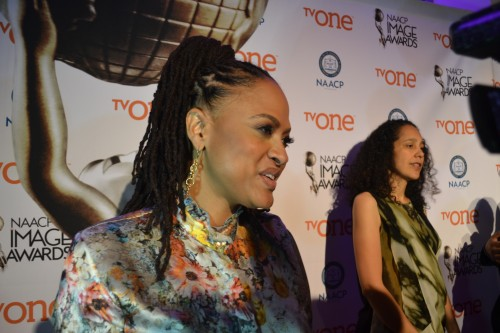 """""""Selma's Ava Duvernay (L)  and """"Beyond the Light's"""" Gina Blythewood are nominated for outstanding directing in a motion pictures"""
